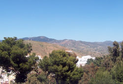 Málaga mountains